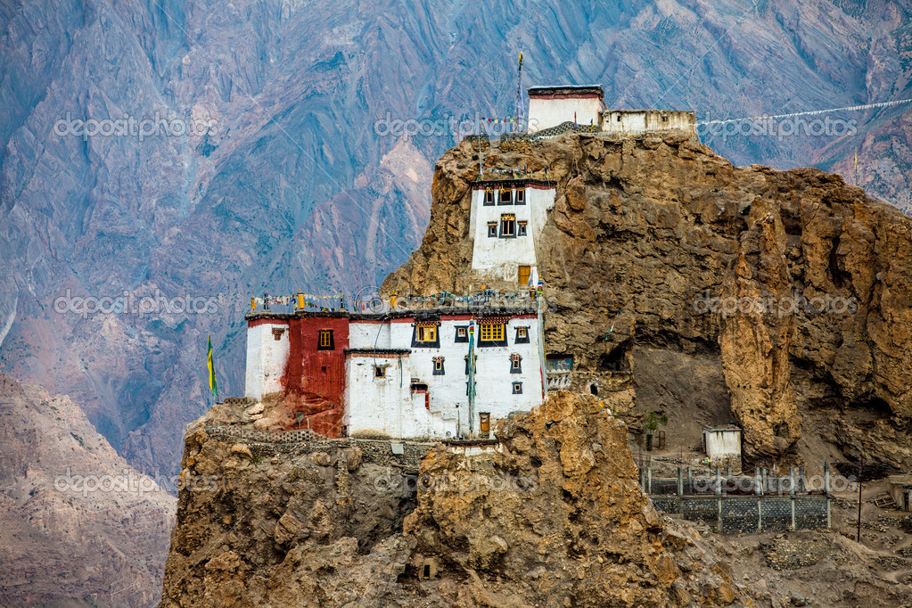 Dhankar Gompa. India. Spiti Valley