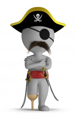 3d small - pirate