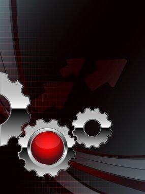 Bright technologies vector. eps10