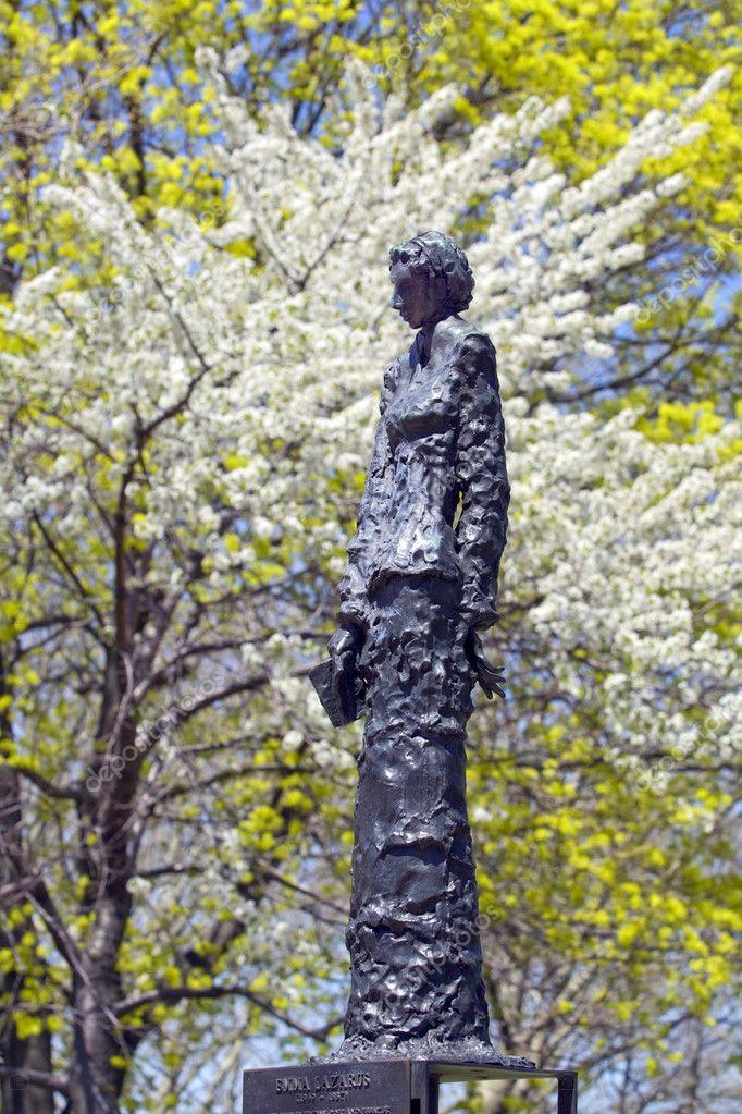 Statue Of Emma Lazarusemma Lazarusõ Famous Poem A Poem By