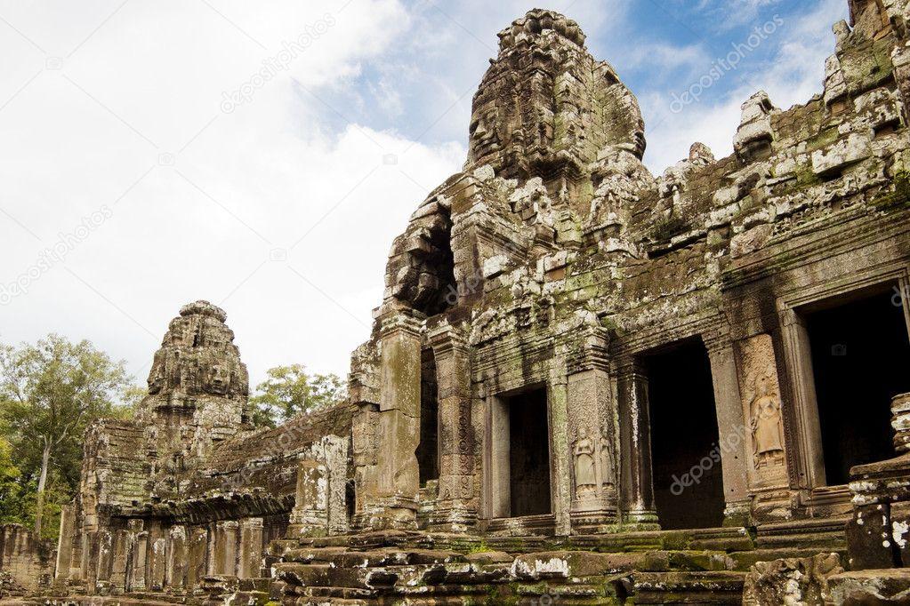 Bayon Temple. Angkor, Siem Reap, Cambodia.