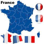 Photo France vector set.
