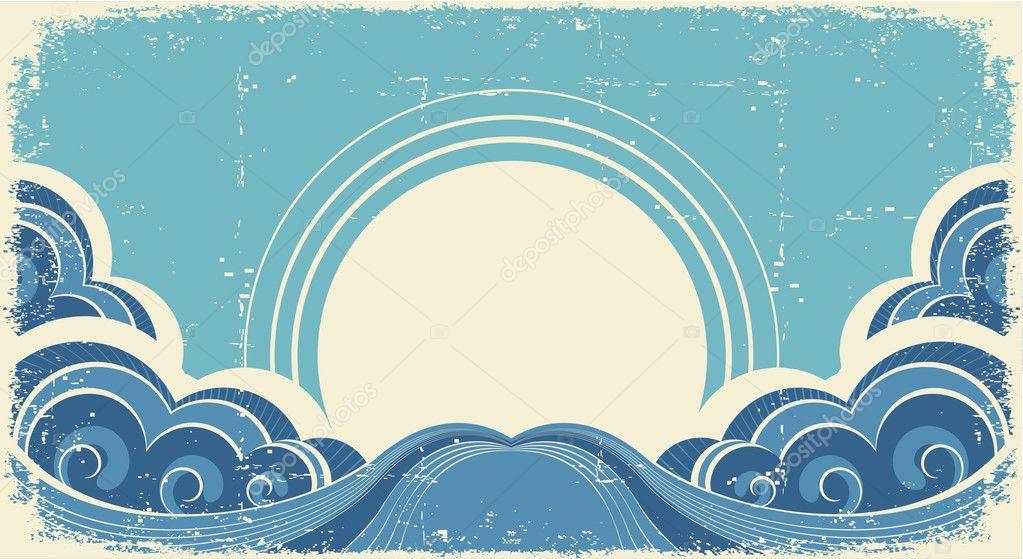 Resultado de imagen de mar ilustracion