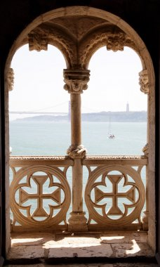 Balcony in Tower of Belem