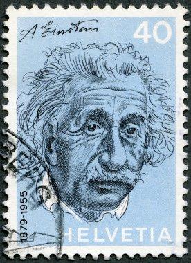 SWITZERLAND - 1972: shows Albert Einstein (1879-1955), physicist