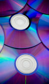 Pozadí některé barevné kompaktní disky