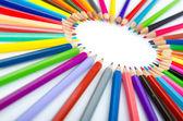 Színes ceruza-kreativitás-fogalom