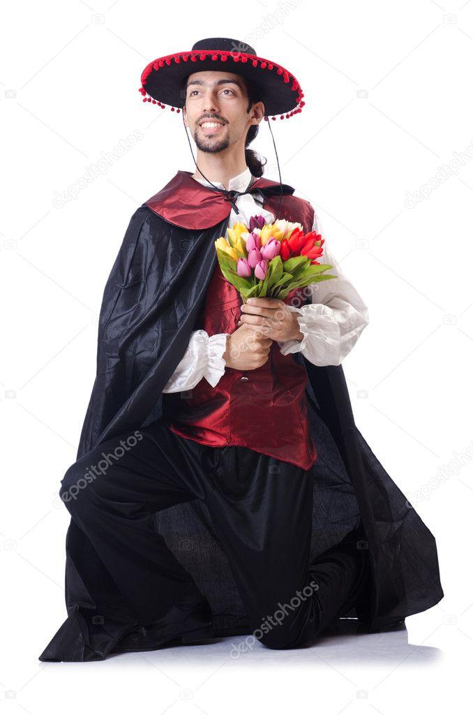 ein romantischer mann