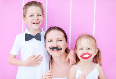 Family party portrait