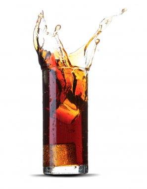 Cola splash