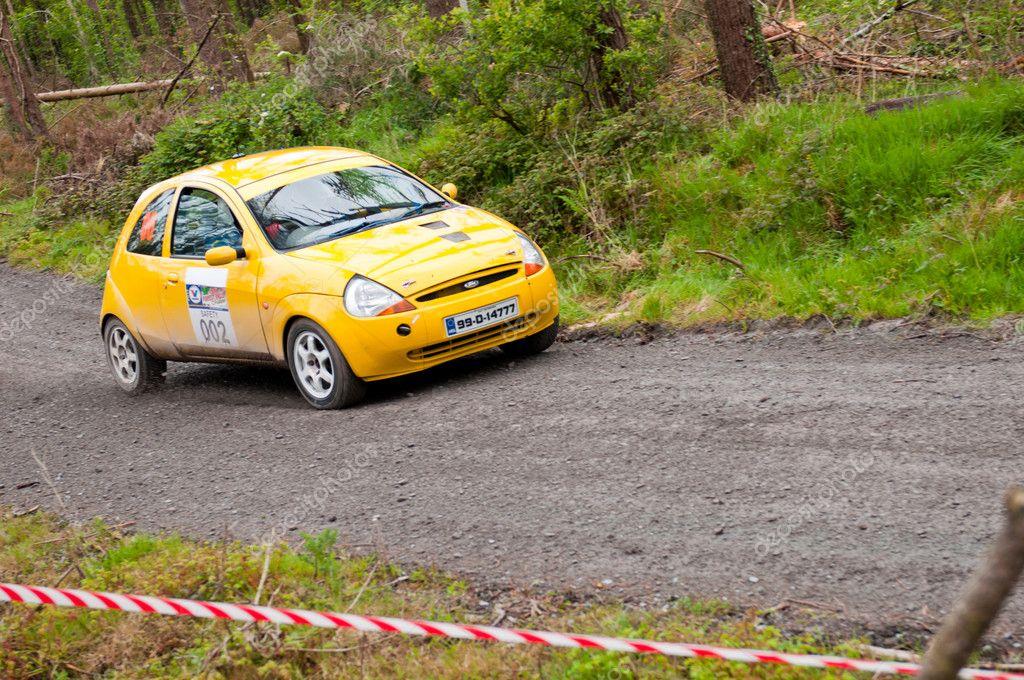 Ford Ka Rally Stock Photo