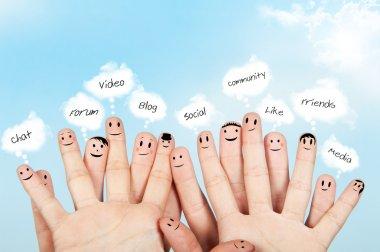 Social netowrk concept