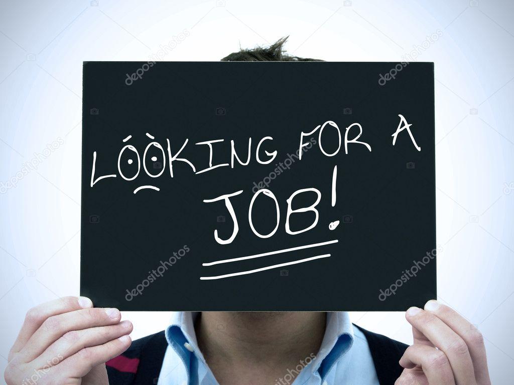 Man search job