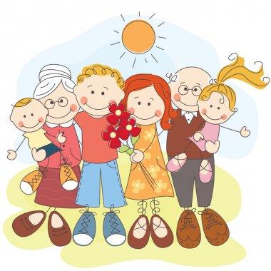 Generation happy family