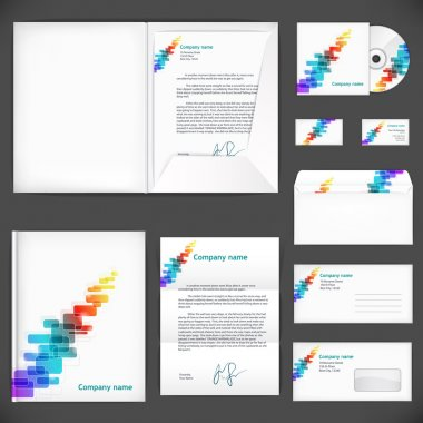 Corporate identity. Universal business style