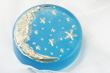 Handmade moon soap