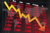 globální ekonomice recese