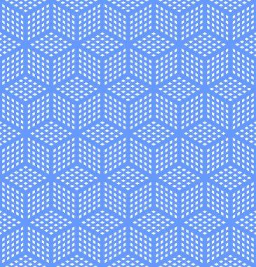 Seamless geometric optical illusion texture.