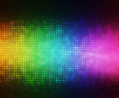 Absztrakt fények disco háttér