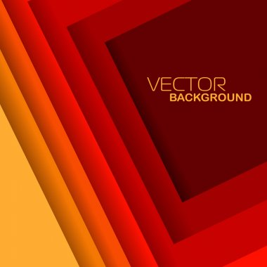 Vector illustration of red and yellow shiny abstract wave background.EPS 10. Can be use for banner, poster and business presentation.