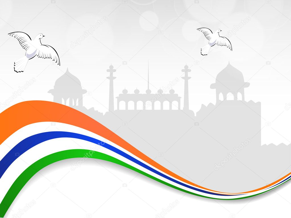 Illustration for Independence Day, Republic Day and other events