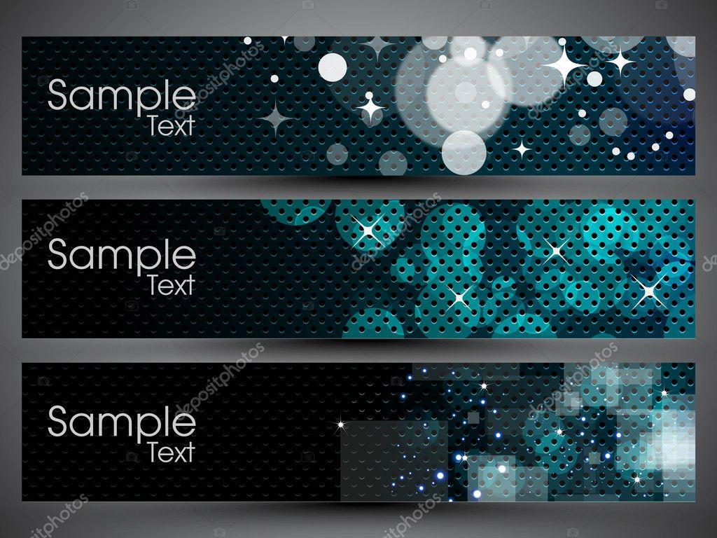 6d5d633ac Cabeçalho do site ou banner com fundo colorido, pode ser facilmente editar  e uso para o design do site ou blog. ilustração em vetor no formato eps 10  ...