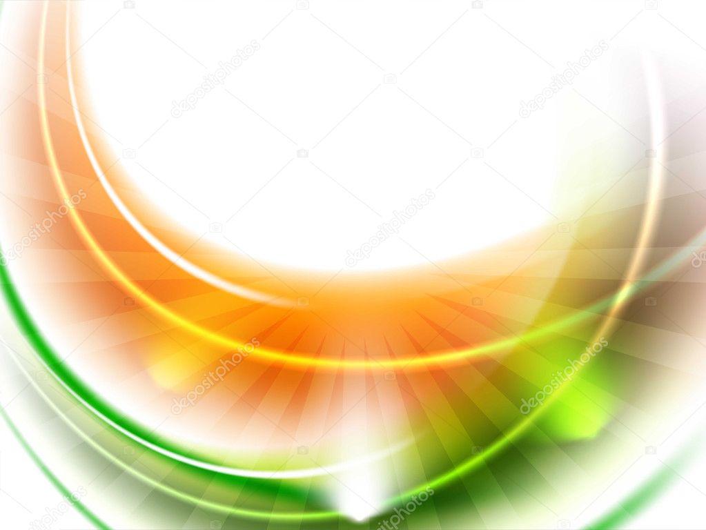 Shiny Indian Flag wave background. EPS 10.