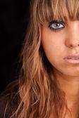 mladá žena neformální portrét