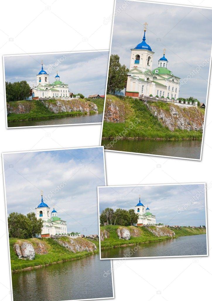 Chiesa del sobborgo sul fiume chusovaya bordo di perm for Cabine sul bordo del fiume