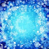 Fotografie Winter-abstrakt hintergrund eingefroren
