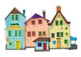 alte Stadtfassaden