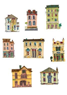 Vintage buildings