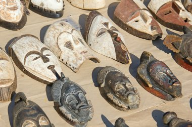 Traditional african masks