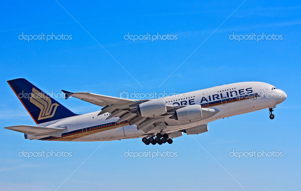 A-380 Singapore Airlines