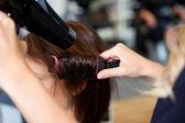 nastavení vlasy řádně