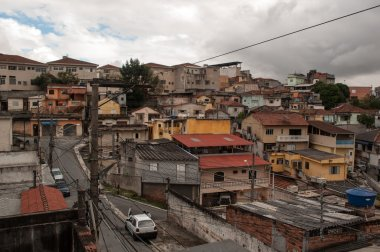 Slum suburb of sao paulo