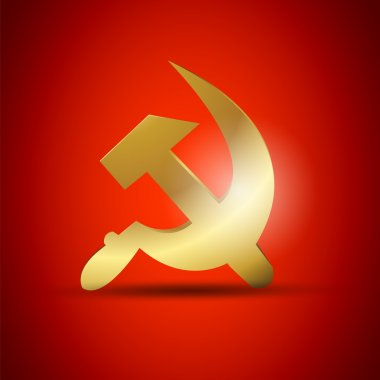Golden USSR Symbol