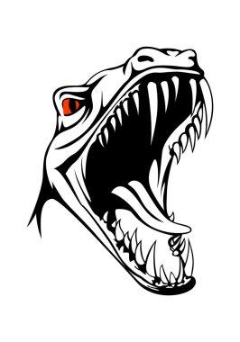 Tyrannosaurus head