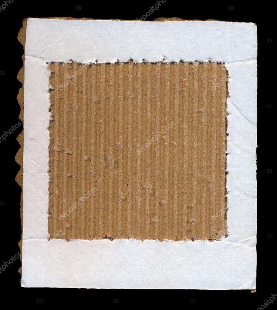 Karton Papier Rahmen — Stockfoto © sirylok #12365252