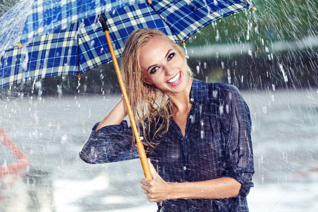 Sexy Girl Rain