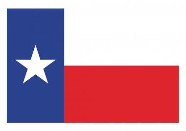Vector texas flag