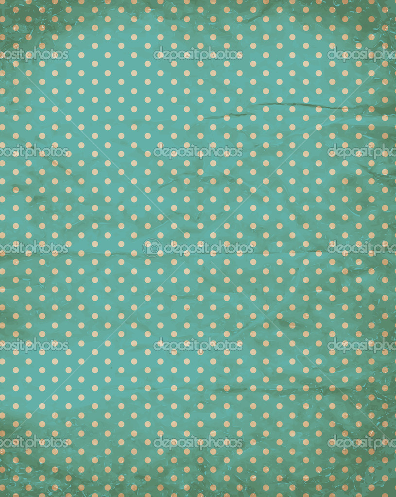 Retro polka dot background free vector free vector download ...