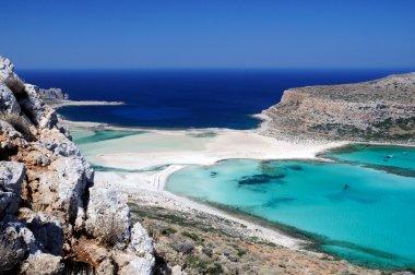 Gramvousa and Balos. Crete, Greece