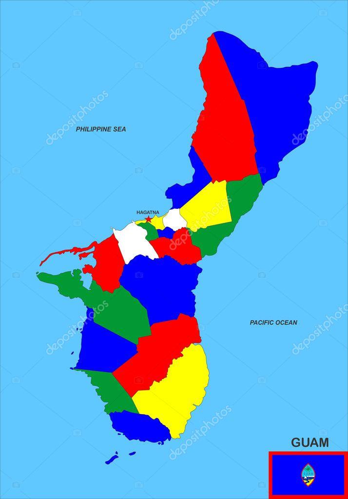 Guam On Map Of World.Guam Map Stock Photo C Tony4urban 11921463