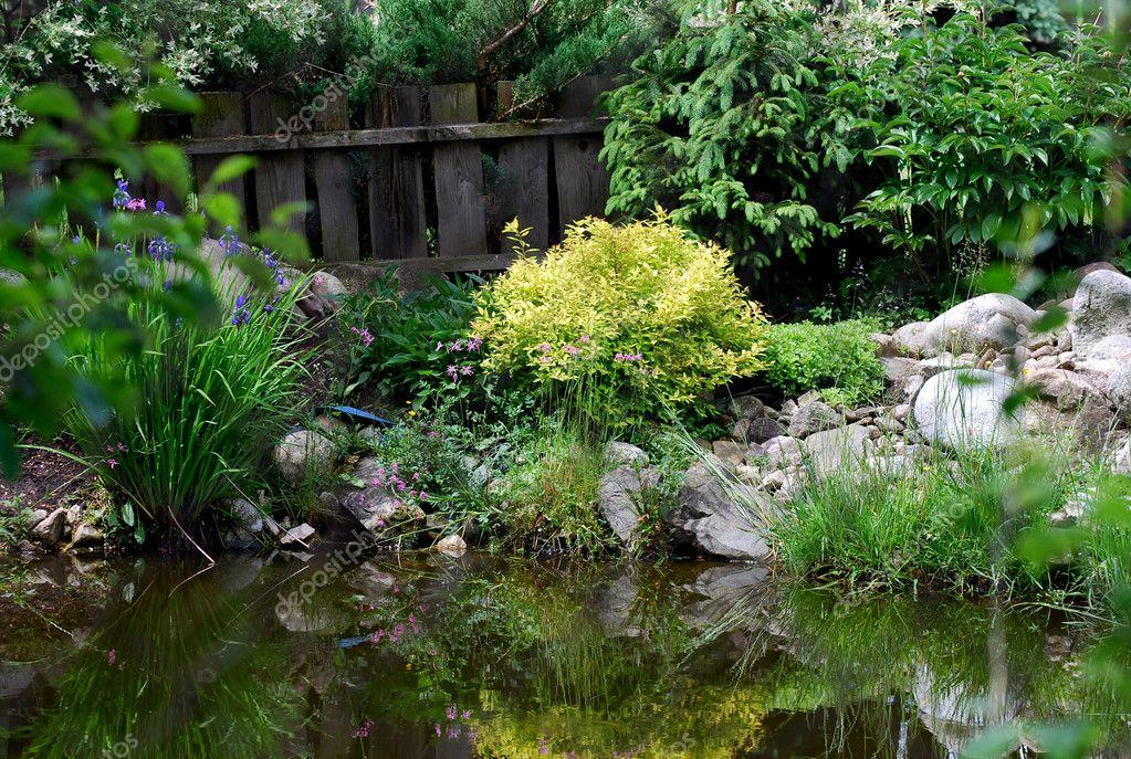 Water in de tuin u2014 stockfoto © kubowa1 #11078034
