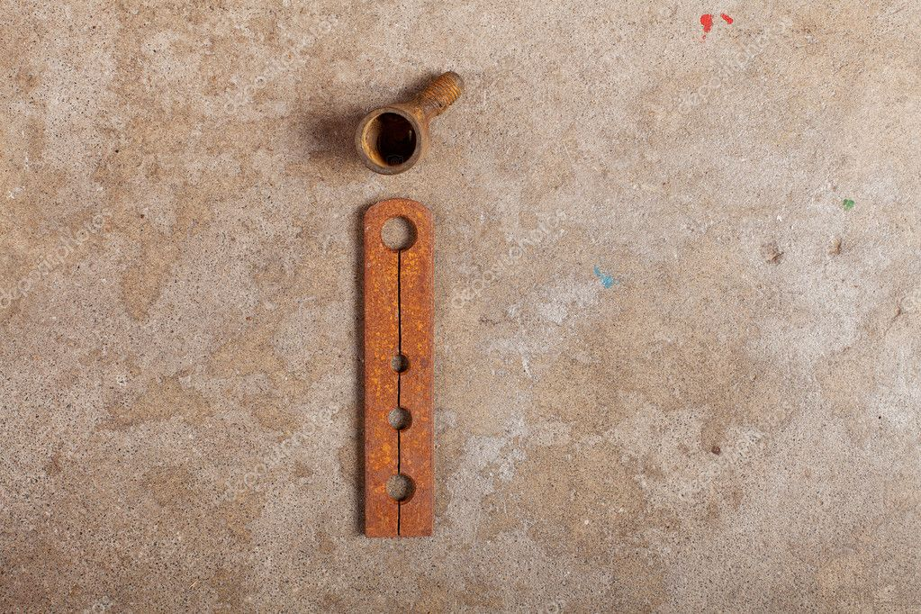 Letter Made Out Of Objects.Junk Alphabet Stock Photo C Slovegrove 11828294