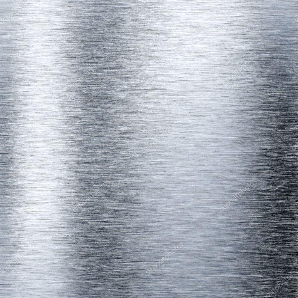 Plaque m tallique en aluminium bross photo 10742175 - Couleur de l aluminium ...