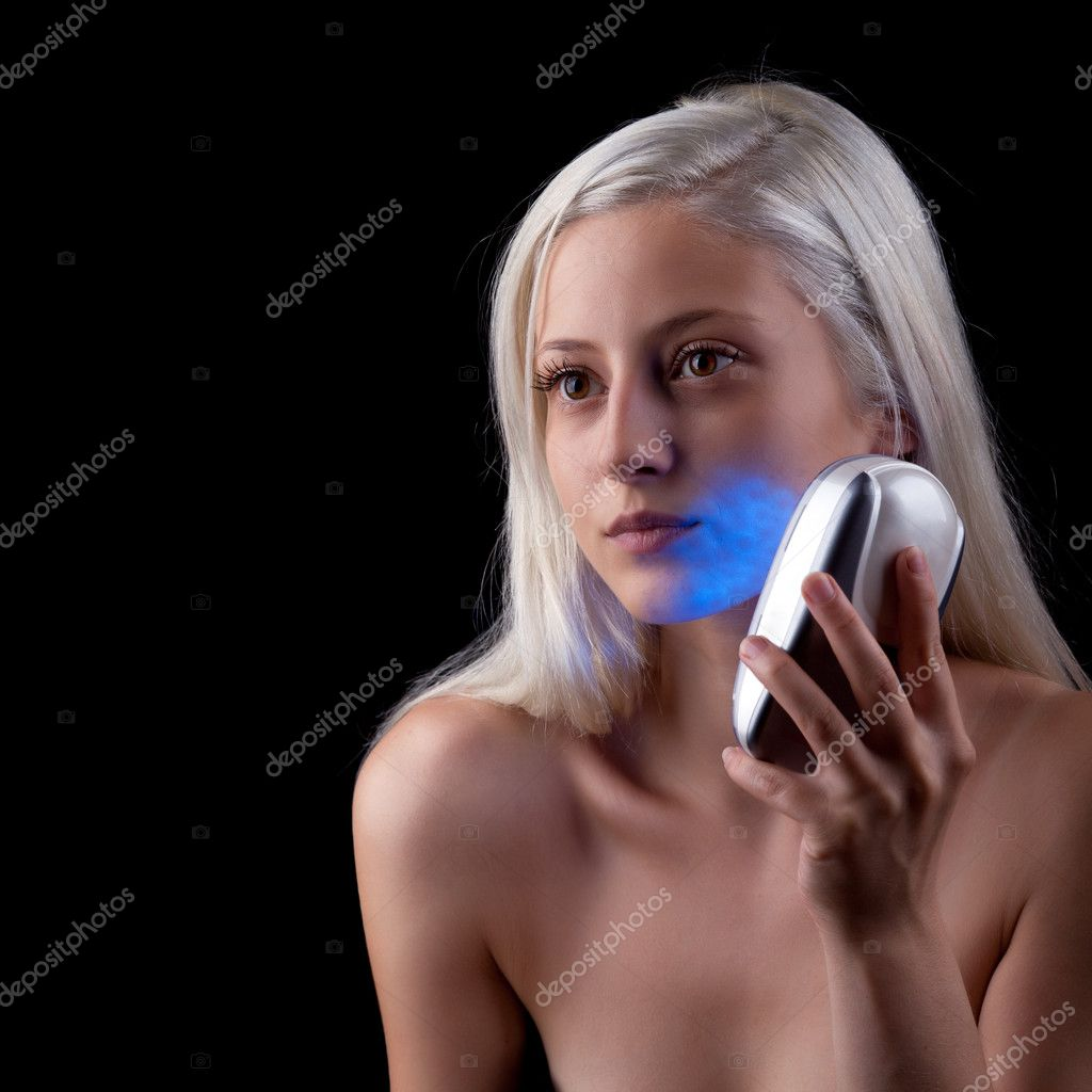 Face phototherapy treatment