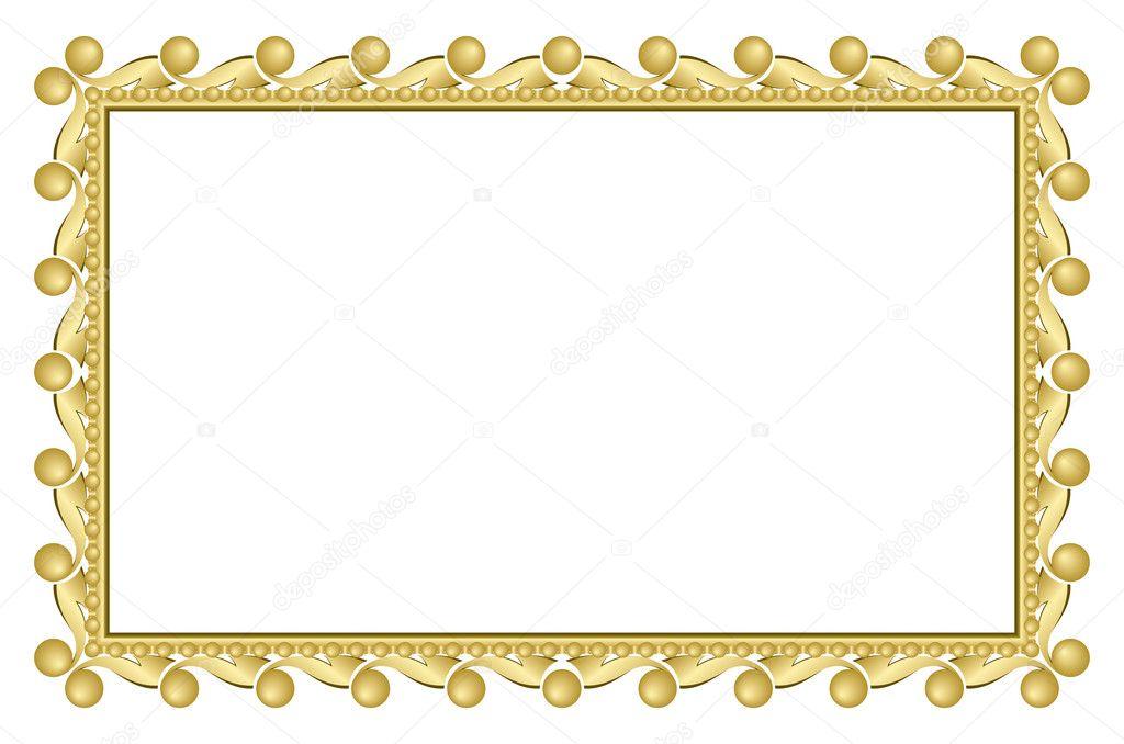Marco Elegante Dorado