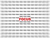 zaměřit se na zaměření